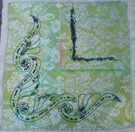 Damask scroll 3