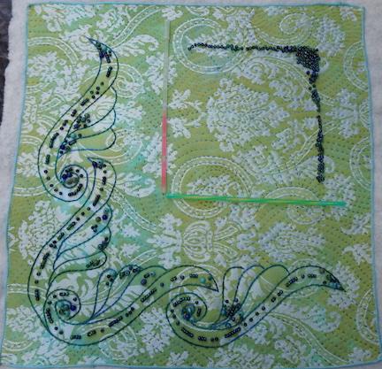 Damask scroll 4