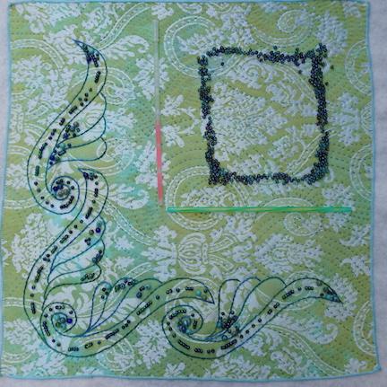 Damask scroll 5