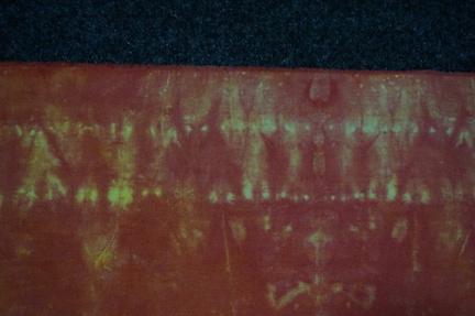 Stitched shibori dyed 2